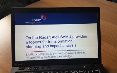 Ovum put SAMU on its radar